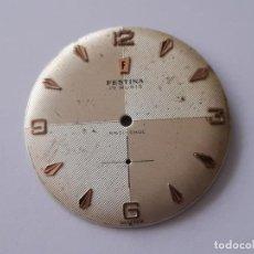 Recambios de relojes: ESFERA PARA PESEUX 320. Lote 195464677