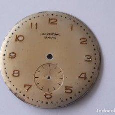 Recambios de relojes: ESFERA UNIVERSAL GENEVE. Lote 195465308