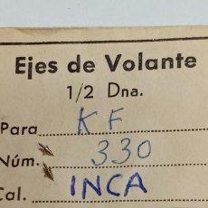 Recambios de relojes: KF / CERTINA - 330 - 2 EJES DE VOLANTE INCA . Lote 195478295