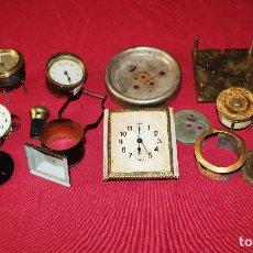 Recambios de relojes: LOTE DE RELOJES Y PIEZAS. Lote 195569626