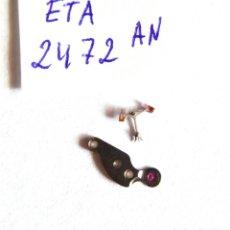 Recambios de relojes: PIEZAS ETA 2472. Lote 195754996