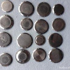 Peças de reposição de relógios: LOTE DE 16 TAPAS ROSCADAS PARA RELOJES DE PULSERA PARA CABALLERO. Lote 196054286