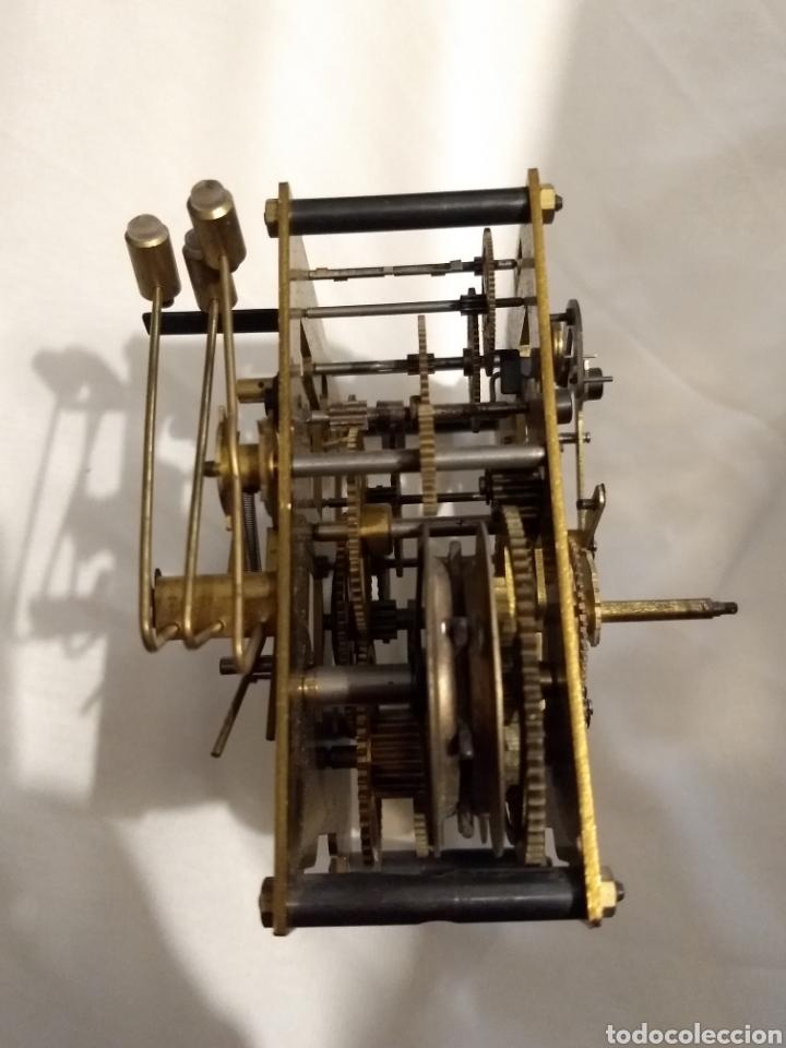 Recambios de relojes: Maquina reloj de pared 3/72 54cm - Foto 4 - 196134045