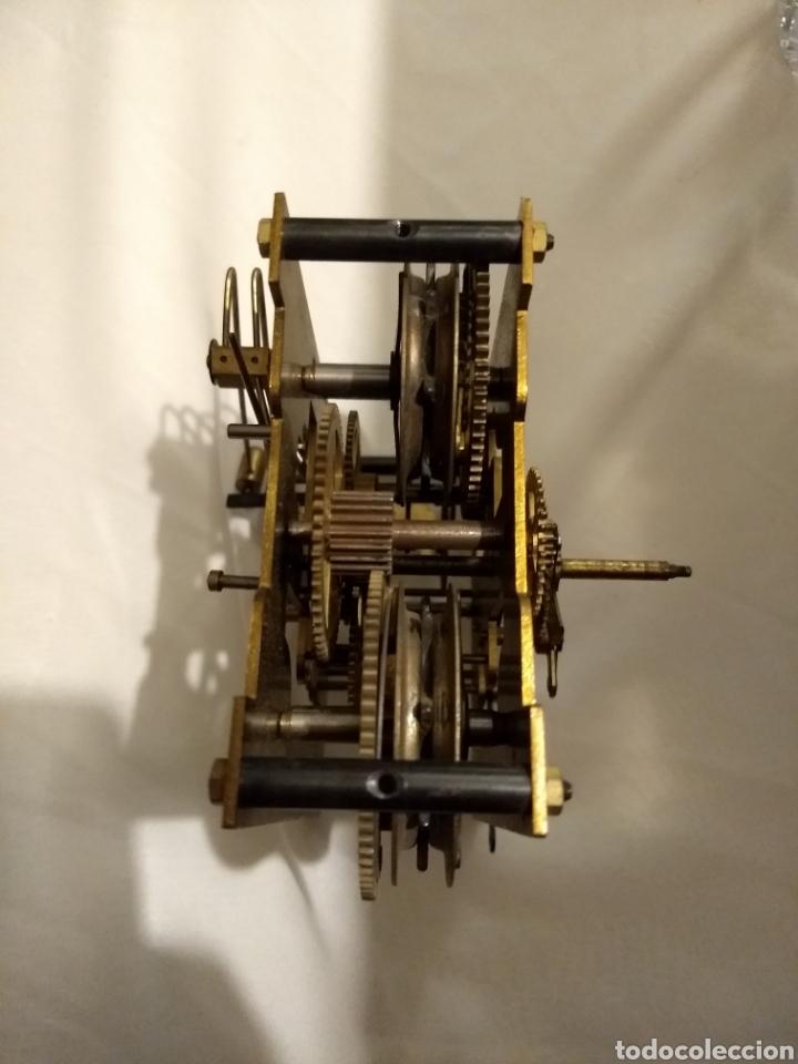 Recambios de relojes: Maquina reloj de pared 3/72 54cm - Foto 5 - 196134045