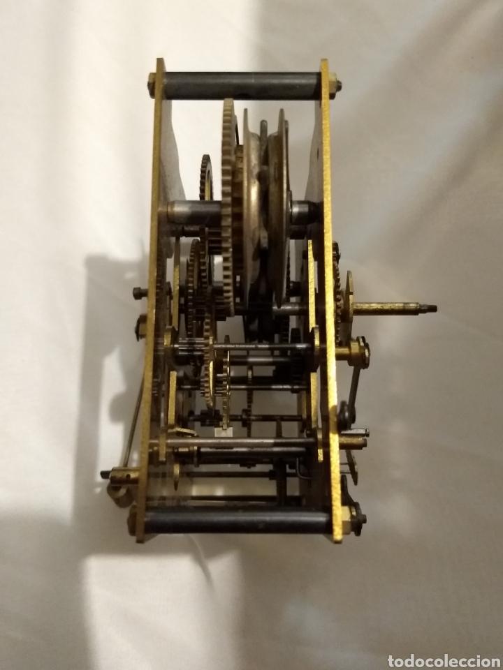 Recambios de relojes: Maquina reloj de pared 3/72 54cm - Foto 6 - 196134045