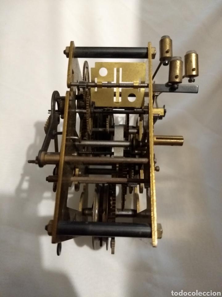 Recambios de relojes: Maquina reloj de pared 3/72 54cm - Foto 7 - 196134045