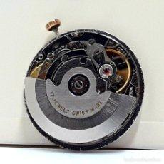 Recambios de relojes: MOVIMIENTO DE RELOJ AUTOMÁTICO COMPLETO CALIBRE ETA 2824 CON ESFERA, AGUJAS Y CORONA Y NUEVO. Lote 196223871
