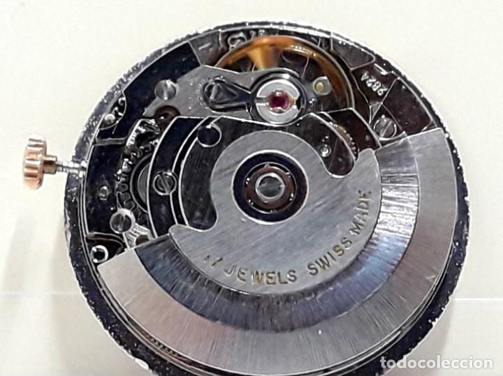 Recambios de relojes: MOVIMIENTO DE RELOJ AUTOMÁTICO COMPLETO CALIBRE ETA 2824 CON ESFERA, AGUJAS Y CORONA Y NUEVO - Foto 2 - 196223871