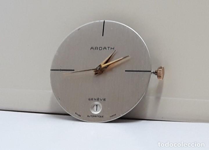 Recambios de relojes: MOVIMIENTO DE RELOJ AUTOMÁTICO COMPLETO CALIBRE ETA 2824 CON ESFERA, AGUJAS Y CORONA Y NUEVO - Foto 4 - 196223871