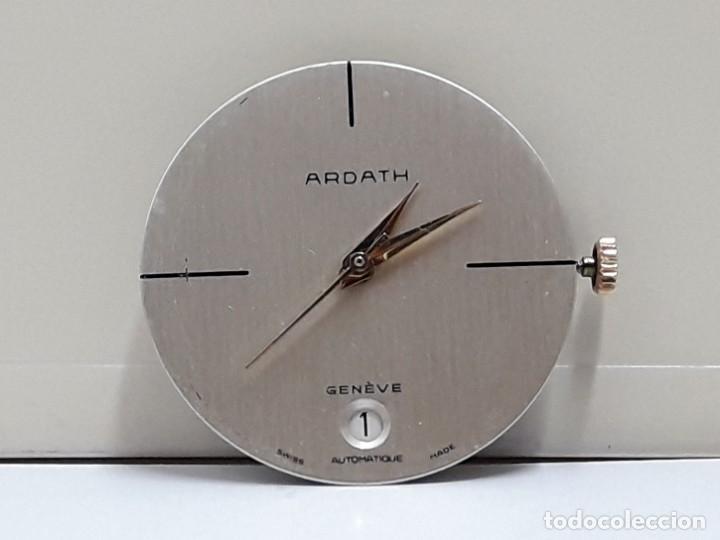 Recambios de relojes: MOVIMIENTO DE RELOJ AUTOMÁTICO COMPLETO CALIBRE ETA 2824 CON ESFERA, AGUJAS Y CORONA Y NUEVO - Foto 5 - 196223871