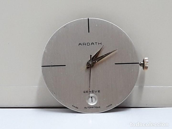 Recambios de relojes: MOVIMIENTO DE RELOJ AUTOMÁTICO COMPLETO CALIBRE ETA 2824 CON ESFERA, AGUJAS Y CORONA Y NUEVO - Foto 6 - 196223871