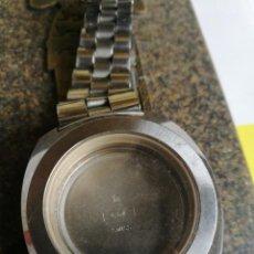 Recambios de relojes: BULOVA 3-62163. ARMIS Y CAJA COMPLETA AÑOS 1970S.. Lote 196521388