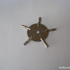 Recambios de relojes: LLAVE MULTIPLE 5 BRAZOS PARA RELOJES DE BOLSILLO-LOTE 249. Lote 196789596