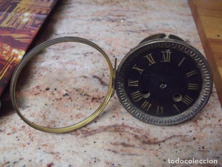 ANTIGUA MAQUINARIA PARIS PARA RELOJ SOBREMESA-AÑO 1870- PARA RESTAURAR O PIEZAS- LOTE 252 (Relojes - Recambios)