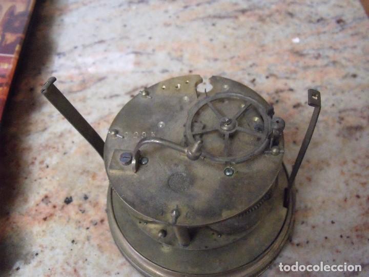 Recambios de relojes: Antigua maquinaria Paris para reloj sobremesa-año 1870- para restaurar o piezas- lote 252 - Foto 5 - 197083330