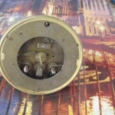 Recambios de relojes: ANTIGUA MAQUINARIA PARIS PARA RELOJ SOBREMESA-AÑO 1870- PARA RESTAURAR O PIEZAS- LOTE 252. Lote 197090761