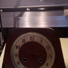 Recambios de relojes: CAJA DE MADERA RELOJ SOBREMESA. Lote 198057332