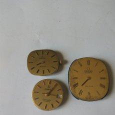 Peças de reposição de relógios: MAQUINARIA RELOJ OMEGA LOTE DE 3. Lote 198299962