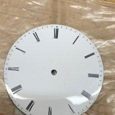 Recambios de relojes: ESFERA PORCELANA RELOJ BOLSILLO 40 MM. Lote 198832283