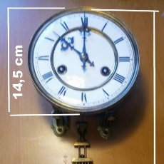 Recambios de relojes: MÁQUINA JUNGHANS B08 CPL, LONGITUD DEL PÉNDULO 45 CM. Lote 199219026