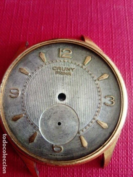 CAJA Y ESFERA RELOJ CAUNY PRIMA DE 40 MM (Relojes - Recambios)