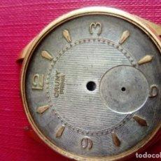 Recambios de relojes: CAJA Y ESFERA RELOJ CAUNY PRIMA DE 40 MM. Lote 199247083