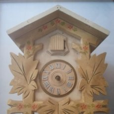 Recambios de relojes: ANTIGUO RELOJ CUCU-CUCO DE CUERDA DEL PRESTIGIOSO FABRICANTE HUBERT HERR TRIBEG MADE IN GERMANY.. Lote 199460803