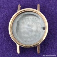 Recambios de relojes: CAJA RELOJ OMEGA. ACERO INOXIDABLE. PLAQUE DE ORO. SIN USAR. N°:5110426. DIAMETRO INT:18MM.EXT:19MM. Lote 199733688