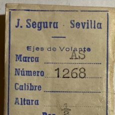 Recambios de relojes: AS 1268 - LOTE EJES DE VOALTE. Lote 199762188