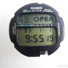 Recambios de relojes: MODULO CASIO SENSOR + BISEL INTERNO + GOMA DE ESTANQUE FUNCIONA LOTE WATCHES. Lote 202363136