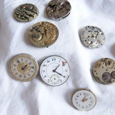 Recambios de relojes: LOTE DE CALIBRES O MAQUINAS RELOJ BOLSILLO Y PULSERA ANTIGUOS AÑOS 1880-1950 R6. Lote 202767916