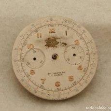 Recambios de relojes: ESFERA BREITLING + CALIBRE LANDERON 48 MECANICO 34MM. Lote 203602698