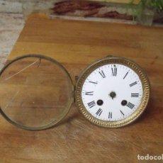 Recambios de relojes: ANTIGUA MAQUINARIA PARIS PARA RELOJ SOBREMESA-AÑO 1870- PARA RESTAURAR O PIEZAS- LOTE 264. Lote 205353903