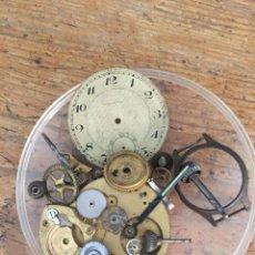 Recambios de relojes: PIEZAS PARA RELOJ DE BOLSILLO- LOTE 263. Lote 205588932