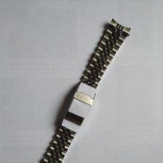 Recambios de relojes: CORREA SEIKO 20 MM DRIVER NUEVA. Lote 206376882
