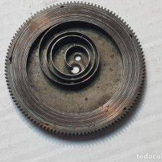 Recambios de relojes: CUBO CON CUERDA PARA RELOJ HEBDOMAS 39 MINIMETROS. Lote 206395295