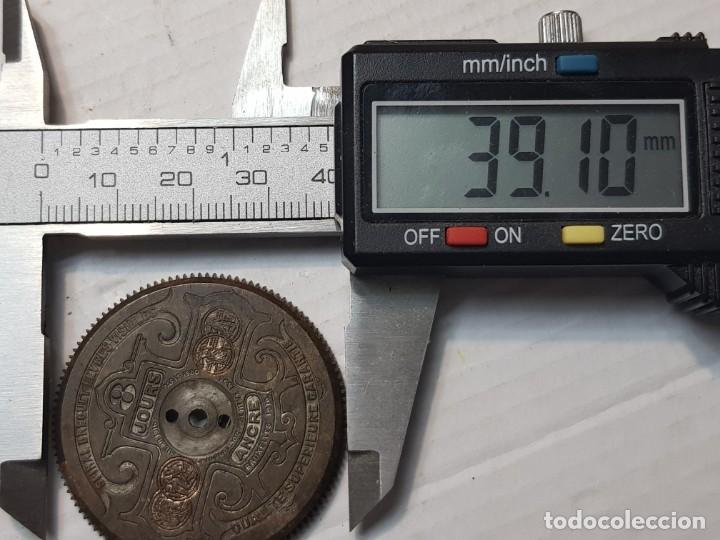 Recambios de relojes: Cubo con Cuerda para reloj Hebdomas 39 minimetros - Foto 3 - 206395295