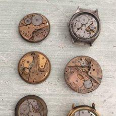 Recambios de relojes: LOTE MAQUINARIAS DE RELOJES. Lote 206427343