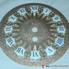 Recambios de relojes: ESFERA MÉTALICA DE 11.5CM CON NÚMEROS ESMALTADOS. AÑOS 70. FABRICADOS POR VIELA. Lote 206510378