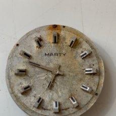 Recambios de relojes: RELOJ MARTY. Lote 206557921