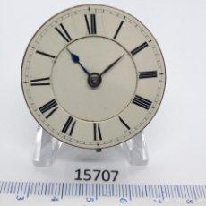 Recambios de relojes: MAQUINARIA RELOJ CADENA COMPLETA. Lote 206911116