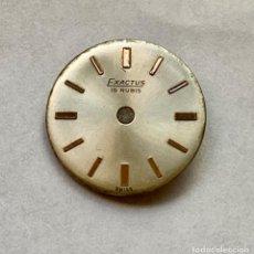 Recambios de relojes: FELSA 4022-ESFERA EXACTUS. Lote 206923866
