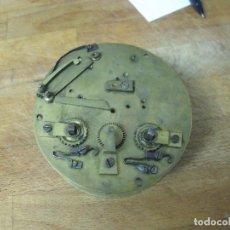 Recambios de relojes: ANTIGUA MAQUINARIA PARIS PARA RELOJ SOBREMESA-AÑO 1870- PARA PIEZAS- LOTE 270. Lote 206935745