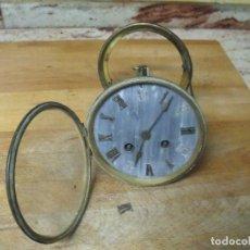 Recambios de relojes: ANTIGUA MAQUINARIA PARIS PARA RELOJ SOBREMESA-AÑO 1870- LOTE 271- FUNCIONA. Lote 207007301
