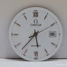 Peças de reposição de relógios: MOVIMIENTO DE RELOJ OMEGA CUARZO CALIBRE 1430 CON ESFERA Y AGUJAS. Lote 207308846