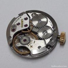 Recambios de relojes: MOVIMIENTO DE RELOJ DE SEÑORA MARCA CAUNY CARGA MANUAL CALIBRE ETA 2512. Lote 207323613
