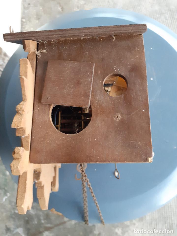 Recambios de relojes: Reloj de cuco para piezas o a restaurar - Foto 2 - 207599015
