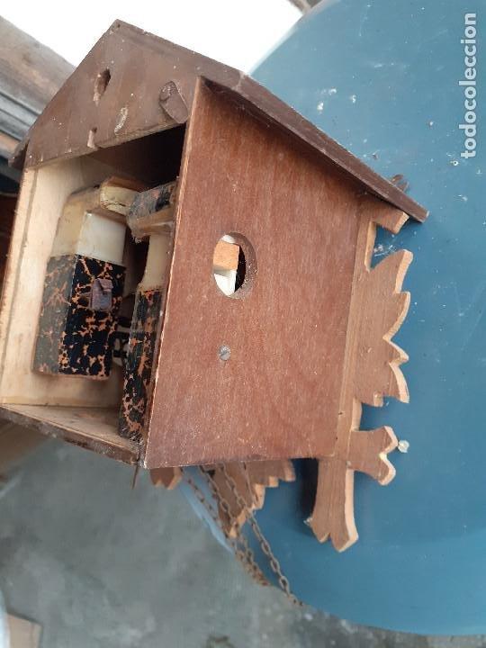 Recambios de relojes: Reloj de cuco para piezas o a restaurar - Foto 3 - 207599015