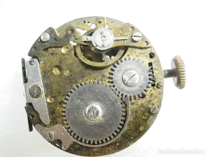 FORNITURA ANTIGUO CALIBRE MECANICO CRONOGRAFO PARA PIEZAS REPARAR LOTE WATCHES (Relojes - Recambios)