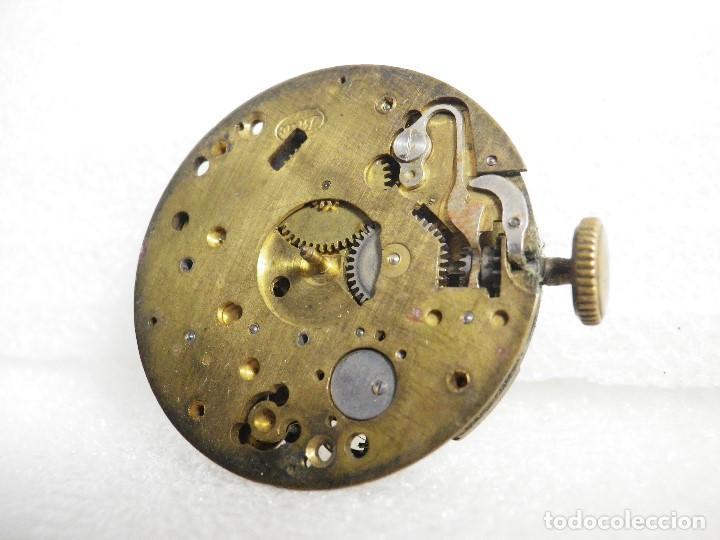 Recambios de relojes: FORNITURA ANTIGUO CALIBRE MECANICO CRONOGRAFO PARA PIEZAS REPARAR LOTE WATCHES - Foto 4 - 207664486